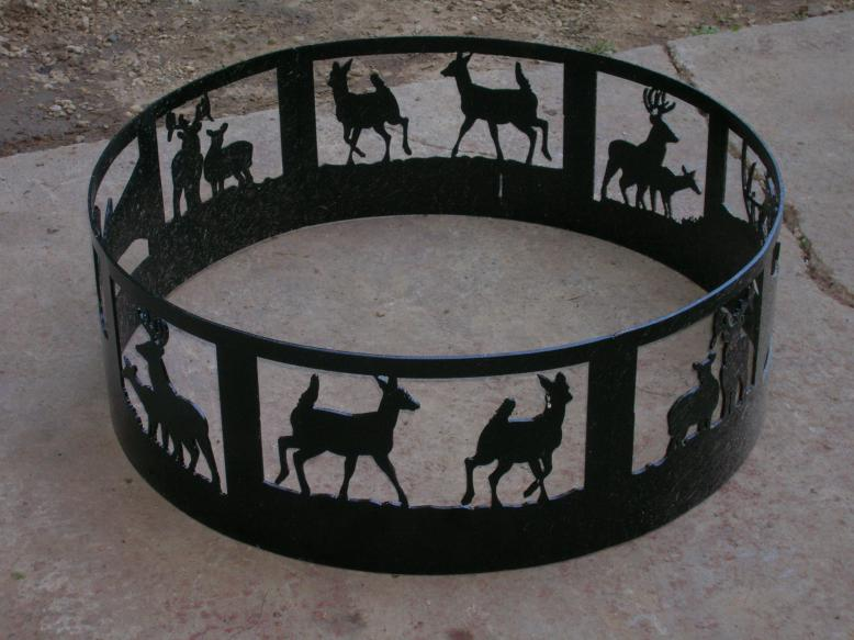 Deer Fire Ring